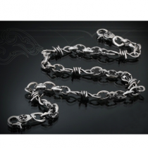 Barb Wire Wallet Chain