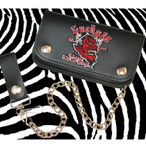 Lucky 13 Grease, Gas & Glory Leather Wallet