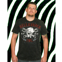 Hellanbach Ride to You Die Premium Acid Wash Men's Tee