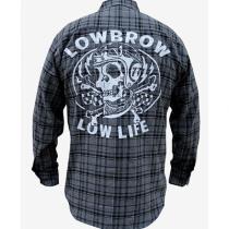 Low Life Men's Button Up Flannel