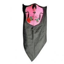Pink Skull w/ Rose Neodanna® Mask