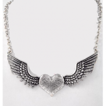 Fly Free Heart Necklace